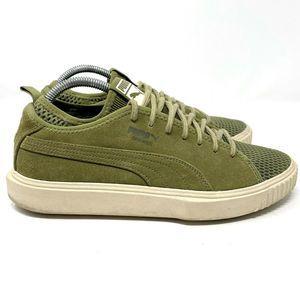 Puma Breaker Suede Green Sneaker Men's 9 Excellent